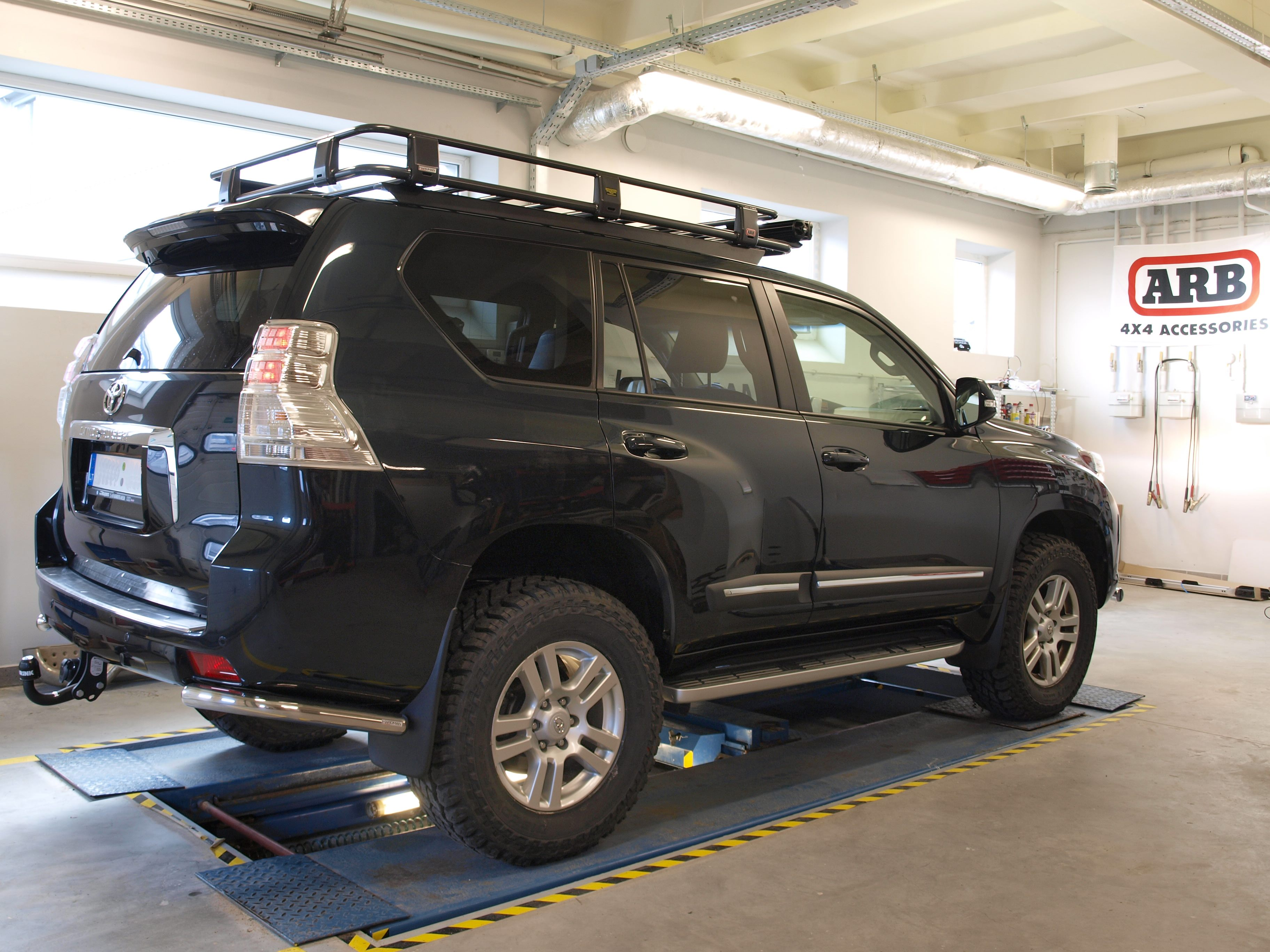 Hardman Tuning Arb Roof Rack Toyota Lc150 2009 Online Shop Land Cruiser
